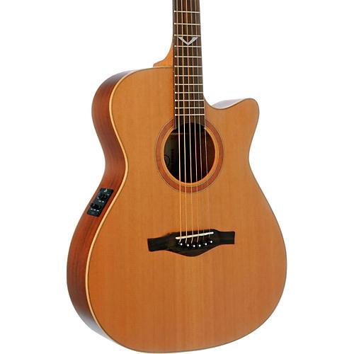 EKO EVO Series Auditorium Cutaway Acoustic-Electric Guitar Natural