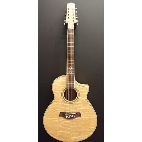 Ibanez EW2012ASE-NT Wood Finish 12 String Acoustic Electric Guitar-thumbnail