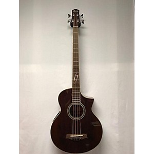 Pre-owned Ibanez EWB20WNE Acoustic Bass Guitar by Ibanez