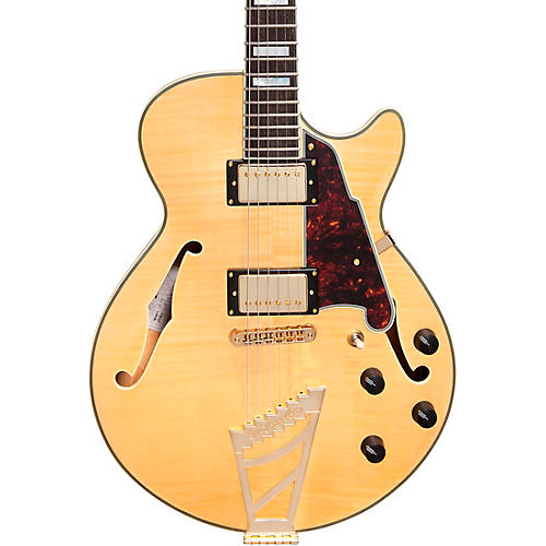 D'Angelico EX-SS Semi-Hollowbody Electric Guitar Natural