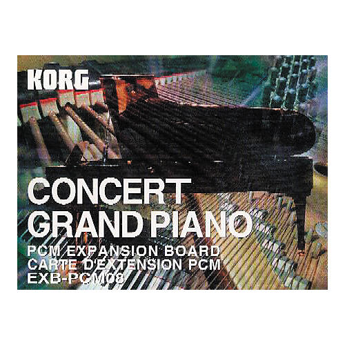 Korg EXB-PCM08 Concert Grand Piano Expansion Board