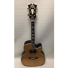 D'Angelico EXCEL DAASG200NAT Acoustic Electric Guitar