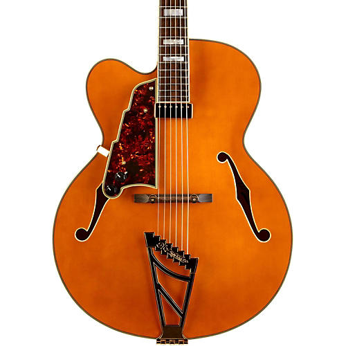 D'Angelico EXL-1 Hollowbody Left Handed Electric Guitar Natural
