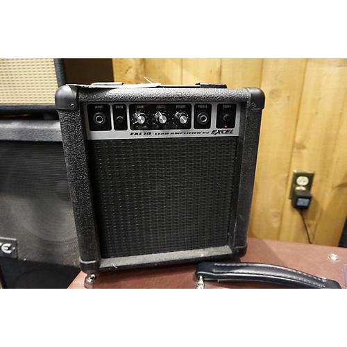 EXL10 Black Battery Powered Amp Black