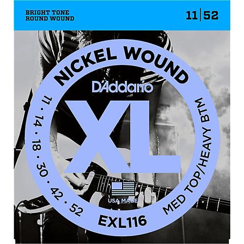 D'Addario EXL116 XL Electric Guitar Strings Medium Top/Heavy Bottom-thumbnail