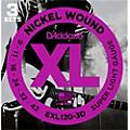 D'Addario EXL120 Nickel Super Light Electric Guitar Strings (3-Pack)  Thumbnail