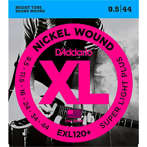 D'Addario EXL120+ Nickel Super Light Electric Guitar Strings