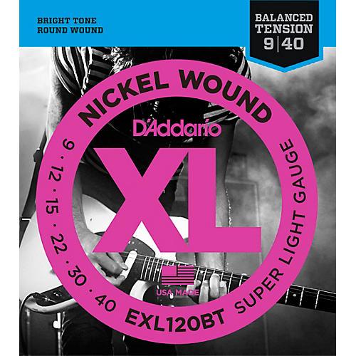 D'Addario EXL120BT Balanced Tension X-Lite Electric Guitar Strings Single-Pack-thumbnail