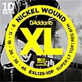 D'Addario EXL125 Super Light Top/Regular Bottom Electric Guitar Strings 10-Pack  Thumbnail