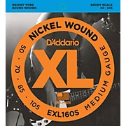EXL160S XL Short Bass String Set