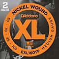 D'Addario EXL160TP Twin-Pack Bass Guitar Strings  Thumbnail