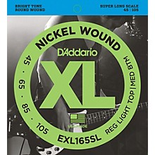 D'Addario EXL165SL Regular Light Top/Medium Bottom Nickel Wound Super Long Scale Bass Strings