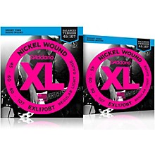 D'Addario EXL170BT Balanced Tension Long Scale Electric Bass String Set (45-107) 2 Pack