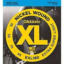 D'Addario EXL180 XL Extra Super Soft/Long Bass Strings