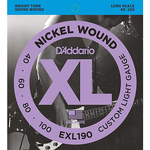 D'Addario EXL190 Strings