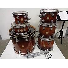 DW EXOTIC REDWOOD Drum Kit