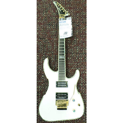 Peavey EXP V-Type Limited Edition Solid Body Electric Guitar Alpine White