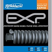 D'Addario EXP110 Coated Electric Regular Light Guitar Strings