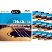 D'Addario EXP16 Acoustic Strings 10-Pack