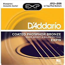 D'Addario EXP19 Coated Phosphor Bronze Bluegrass Acoustic Guitar Strings