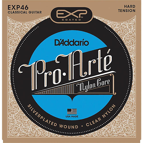 D'Addario EXP46 Coated Hard Classical Guitar Strings