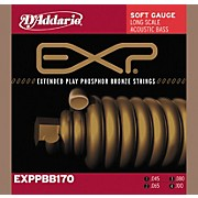 D'Addario EXPPBB170 Coated Phosphor Bronze Acoustic Bass Strings