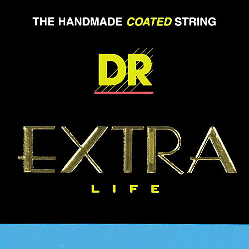 DR Strings EXR-12 Extra Life Clear Coated Phosphor Bronze Guitar Strings-thumbnail
