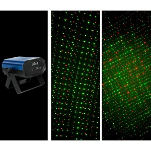 Chauvet DJ EZ Laser RGFX Battery Powered Red and Green Laser by Chauvet