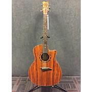 Dean EZEBRA Exotica Mini Jumbo Acoustic Electric Guitar
