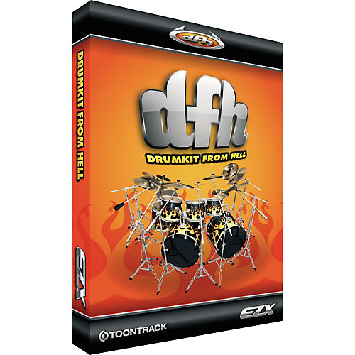 Toontrack EZXpansion Drumkit From Hell-thumbnail