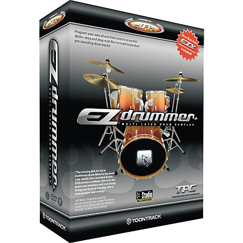 Toontrack EZdrummer Multi Layer Drum Sampler-thumbnail