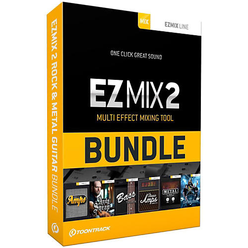 Toontrack EZmix 2 Rock & Metal Guitar Bundle Software Download