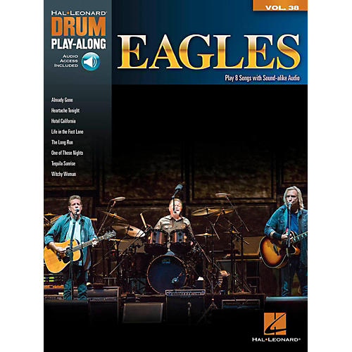 Hal Leonard Eagles - Drum Play-Along Volume 38 (Book/Online Audio)-thumbnail