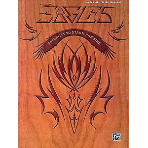 Alfred Eagles - Lyric/Chord Songbook Guitar Book Series Softcover Performed...