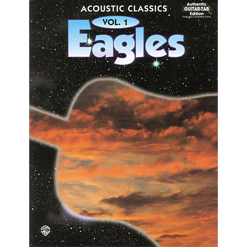 Alfred Eagles Acoustic Classics Volume 1 Book