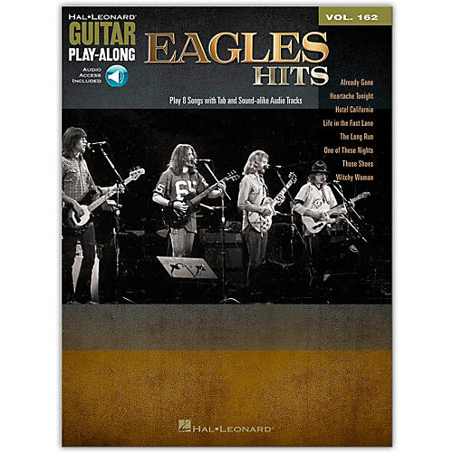 Hal Leonard Eagles Hits - Guitar Play-Along Vol. 162-thumbnail