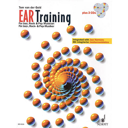 Schott Ear Training - A Complete Course for the Jazz, Rock & Pop Musician Schott Series Softcover with CD