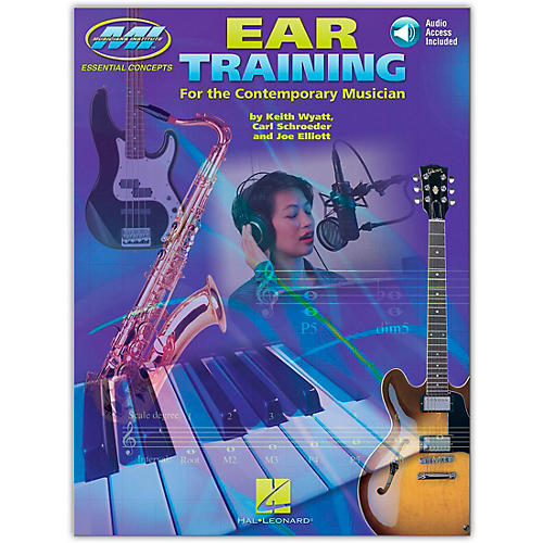 Musicians Institute Ear Training for All Musicians (Book/Online Audio)-thumbnail