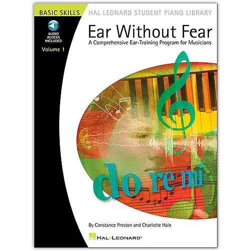 Hal Leonard Ear Without Fear Volume 1 Hal Leonard Student Piano Library Book/Online Audio