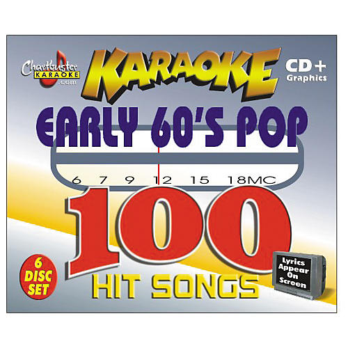 Chartbuster Karaoke Early '60s Pop Volume 1 CD+G