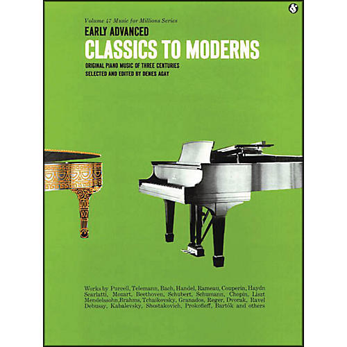 Music Sales Early Advanced Classics To Moderns By Denes Agay-thumbnail