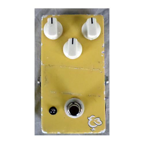 In Store Used Early Bird Overdrive Yellow Effect Pedal-thumbnail