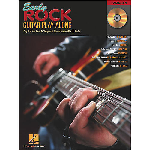 Hal Leonard Early Rock Guitar Play-Along (Book/CD)-thumbnail
