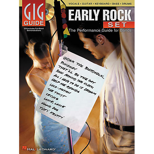 Hal Leonard Early Rock Set Gig Guide Book with CD-thumbnail