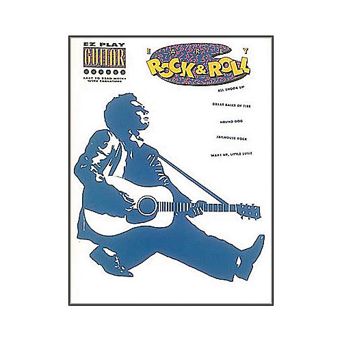Hal Leonard Early Rock n Roll Easy Guitar Book