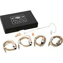 Galaxy Audio Earset Mic 4 Cables-Mixed Level 1