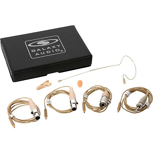 Galaxy Audio Earset Mic 4 Cables-Mixed