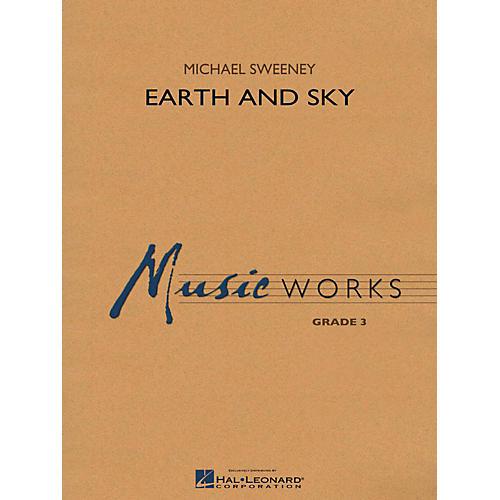 Hal Leonard Earth And Sky - MusicWorks Concert Band Grade 3-thumbnail
