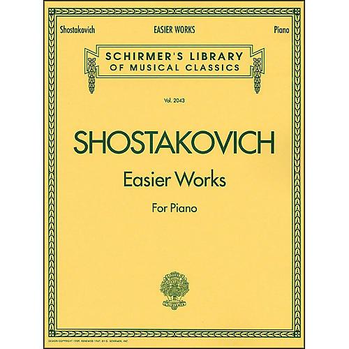 G. Schirmer Easier Works By Shostakovich