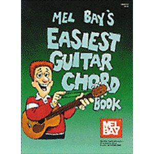 Mel Bay Easiest Guitar Chord Book by Mel Bay